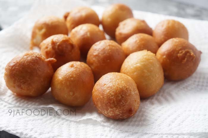 Puff puff Video Recipe - Nigerian - snack - how - to - round- balls - easy - sweet