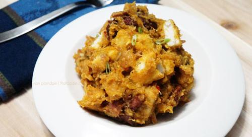 yam pottage - porrage - asaro - party - style - nigerian - recipe