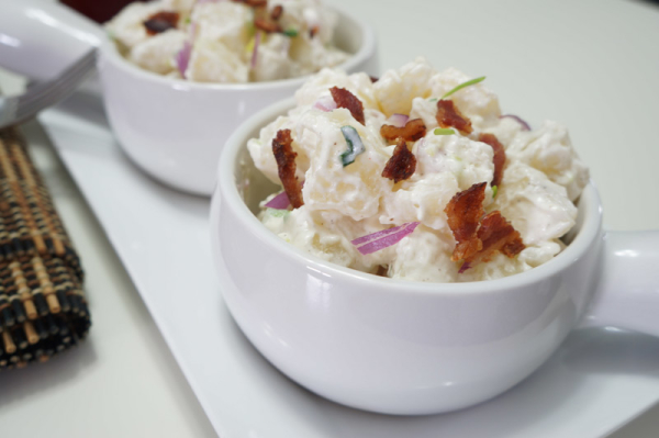 Cassava - Salad - bacon - african - food