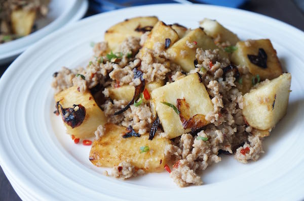 Yam - minced - meat - bolognese - 9jafoodie - Original - Nigerian - naijafoodie - recipe - dish - with - african - yam