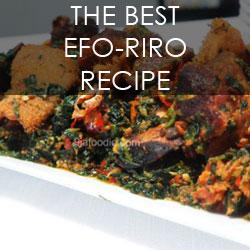 Nigerian edikang ikong edikangikong soup recipe efo riro jollof forumfinder Image collections
