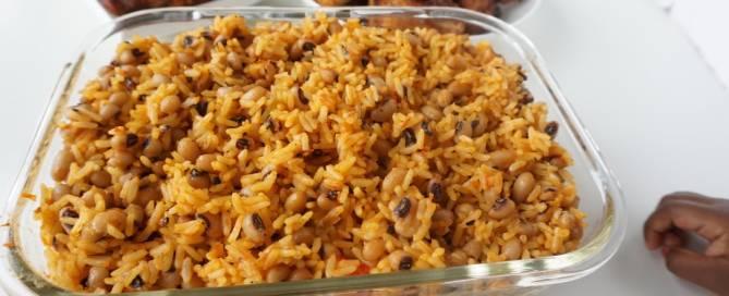 Coconut Rice beans Jollof