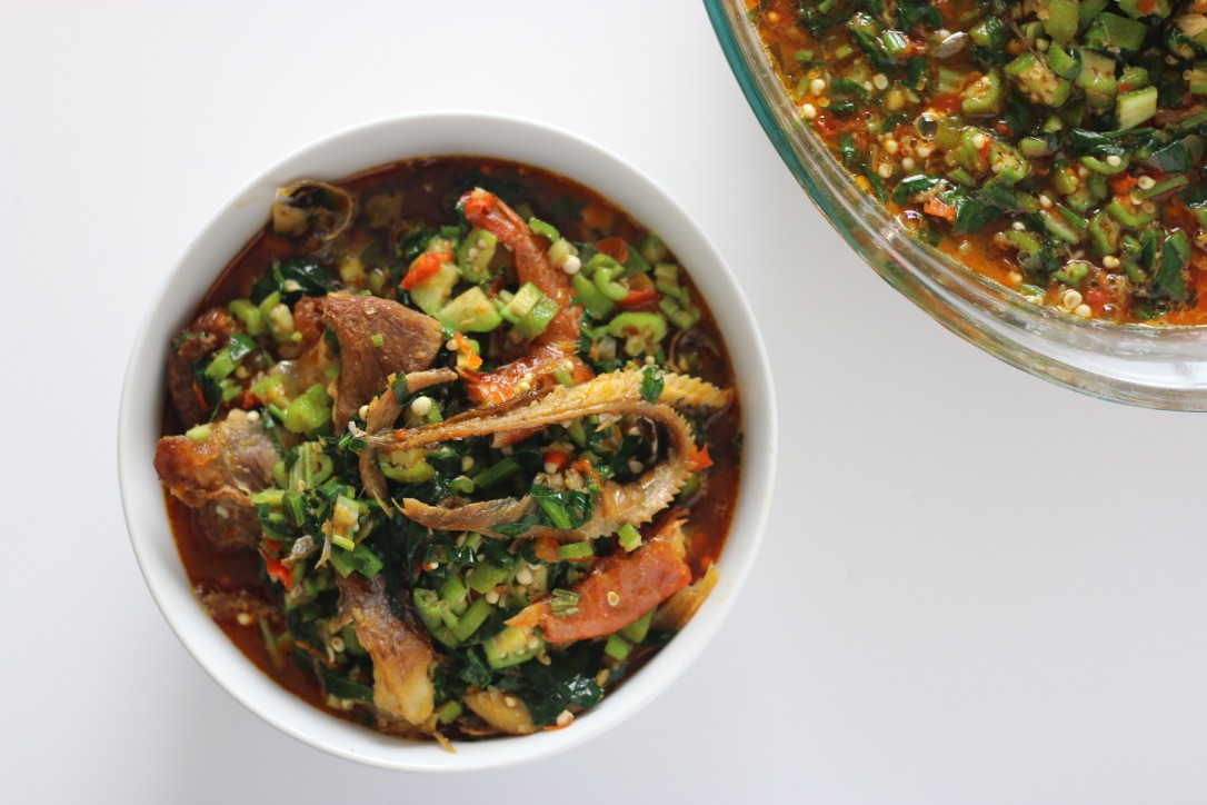 9jafoodie nigerian food recipes african nigerian soup okra okro panla okele swallow palm oil forumfinder Images
