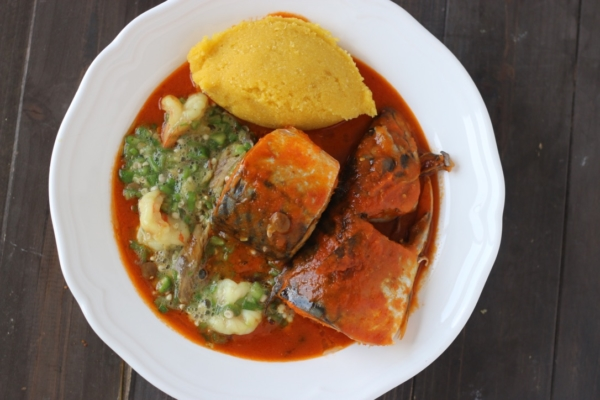 Light mackerel stew
