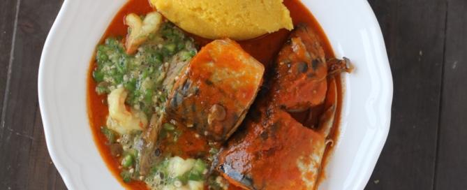 Light mackerel stew