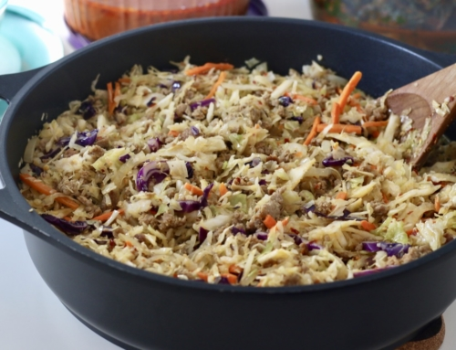 Fried Slaw – Low Carb Meal