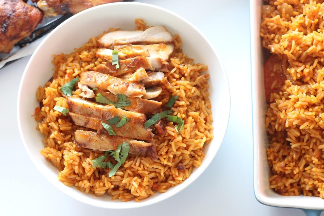 Perfectly smokey nigerian party jollof rice forumfinder Gallery