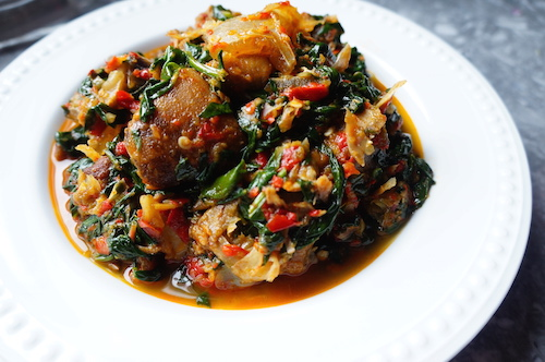 Nigerian efo stew spinach stew recipe efo stew naijafoodie nigerian food recipe yoruba riro forumfinder Images