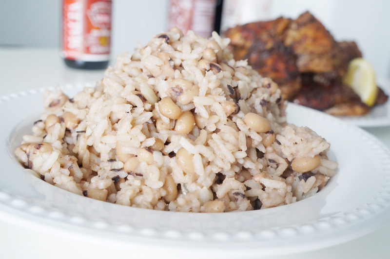 Image result for beans and rice nigerian