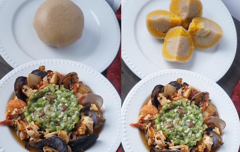 Yoruba Style Plain Okra