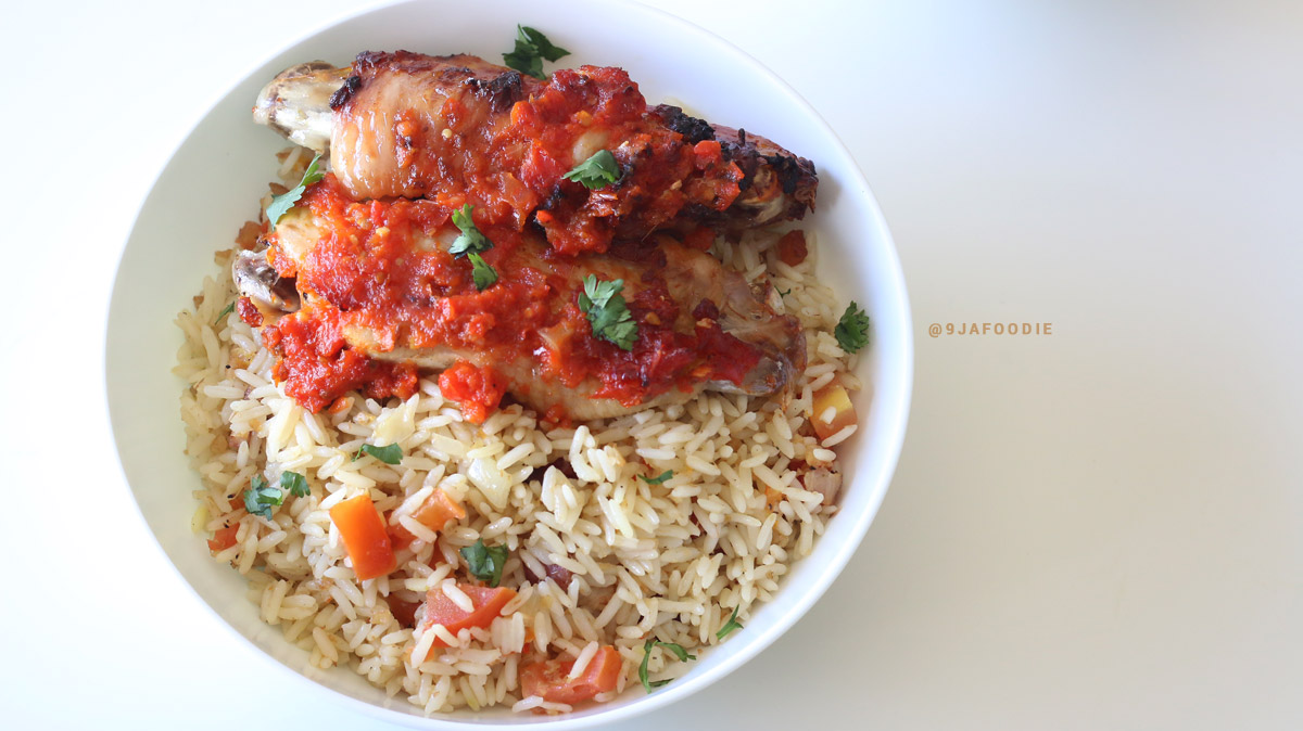 9jafoodie nigerian food recipes quick oven baked coconut rice forumfinder Gallery